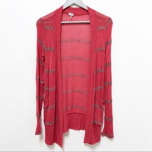 Splendid knitted cardigan with front pockets, SM
